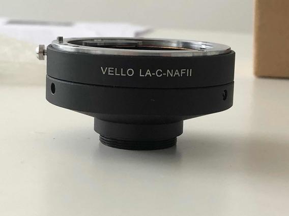 Adaptador Vello C Mount Para Nikon