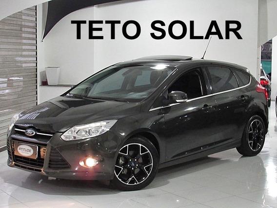 Ford Focus 2.0 Titanium 2014 Flex 4p Teto Solar