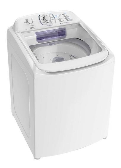 Lavadora de roupas automática Electrolux jet&clean LAC13 branca 13kg 110V