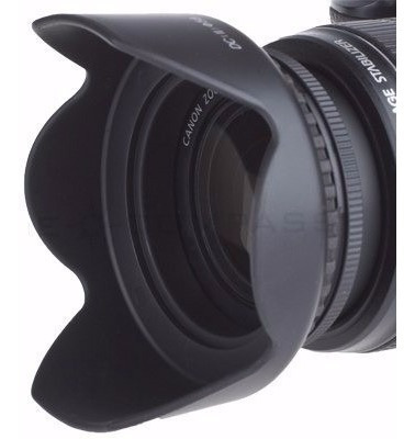 Parasol Para-sol Tulipa Petala 72mm Nikon Canon Etc