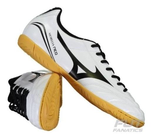Tenis Futsal Mizuno 4133144-3859 Morelia Bco/pto