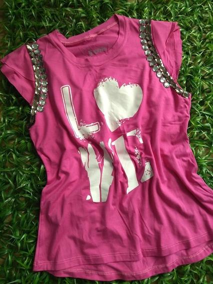 Tshirt Blusinhas Femininas Camisetas Moda T-shirts Verão