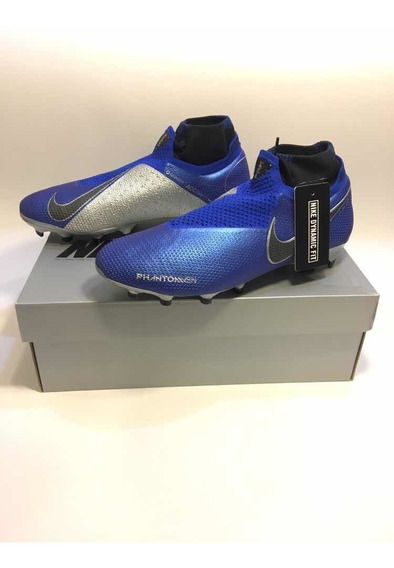Zapatos De Fútbol Profesional Nike Phantom Vision Racer Blue