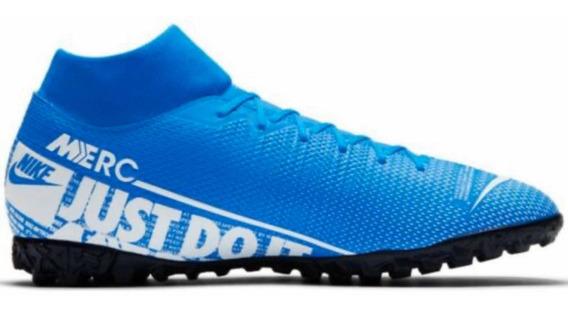 Tenis Nike Superfly 7 Academy Tf Azul