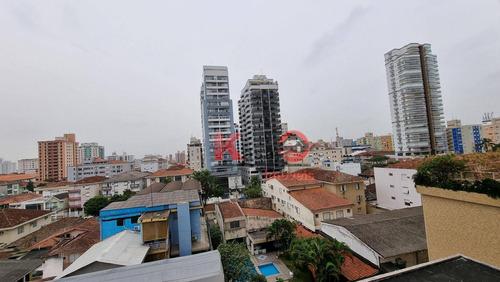 Apartamento Com 3 Dormitórios À Venda, 96 M² Por R$ 835.000,00 - Embaré - Santos/sp - Ap10435