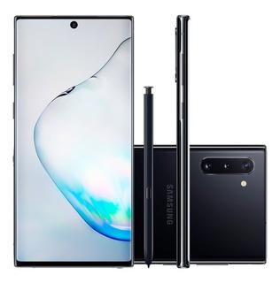 Celular Samsung Galaxy Note 10 Preto 256gb 8gb Ram Tela