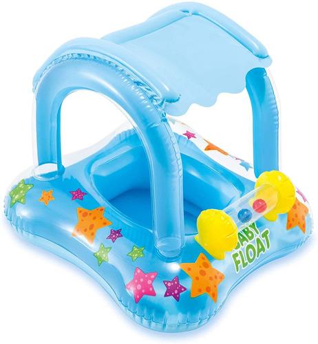 Boia Bote Infantil Bebê Piscina C/ Fralda E Cobertura