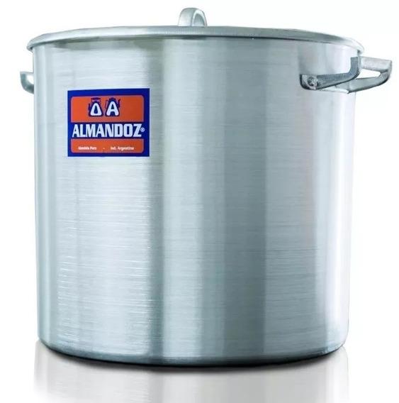Olla Gastronomica Aluminio N 55 - 131 L Almandoz / Mayorista