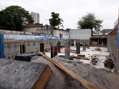 Terreno À Venda, 630 M² Por R$ 4.700.000 - Cambuci - São Paulo/sp - Te0005