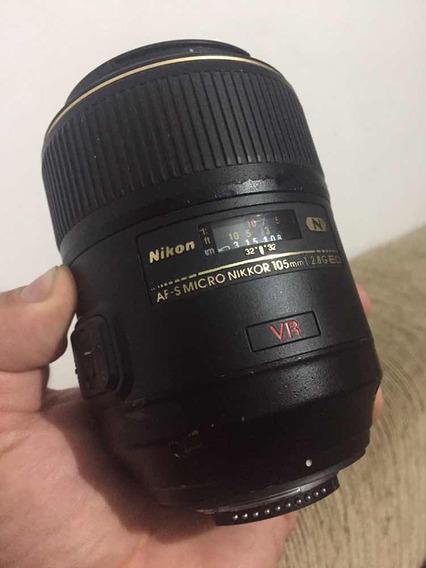 Lente Nikon 105 2.8 Macro