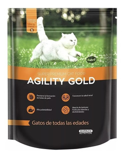 Agility Gold Para Gato Adulto 1.5 Kg - kg a $27400