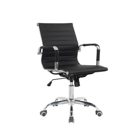 Cadeira Diretor Giratória Estofada Com Rodízios Jiwt
