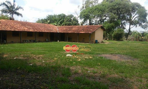 Chácara Residencial/ Comercial - Bairro Da Ponte - Ch0664