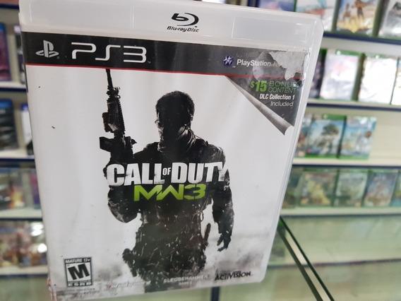 Call Of Duty Mw 3 Usado Original Ps3 Midia Física