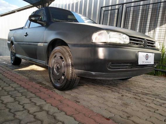 Volkswagen Saveiro Cl 1.6 Mi 1999/2000 (gas.) - Preto