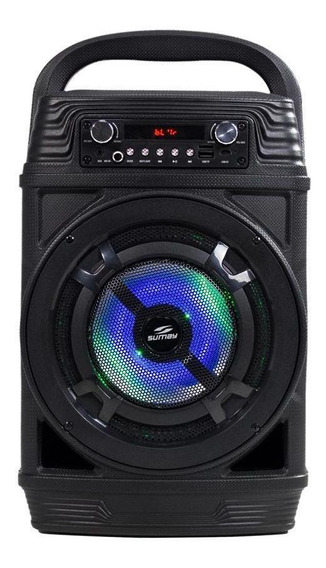 Caixa De Som Portátil Power Black 60w Rms