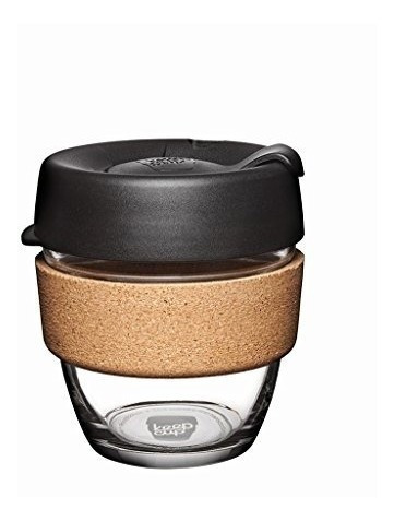 Keepcuptaza Reutilizable De Vidrio Para Café, Espresso, Mu