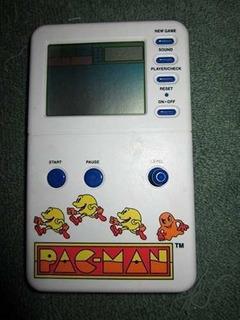 Vintage Pac Man Electrónico Handheld Del Juego (1982)