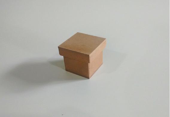 Kit De 70 Caixas 5x5 De Mdf Cruas-perfeita Para Lembrancinha