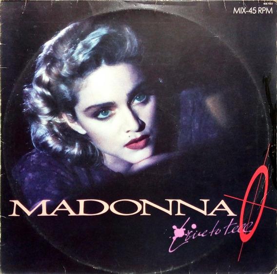Madonna Lp Mix 1986 Live To Tell 45 Rpm 14087
