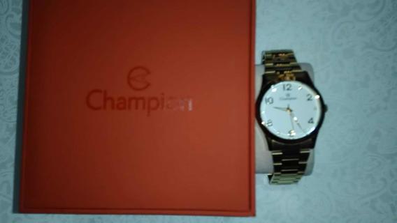 Relógio Champion Dourado - Feminino