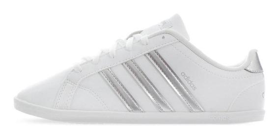 Tenis adidas Coneo Qt - Db0135 - Blanco - Mujer