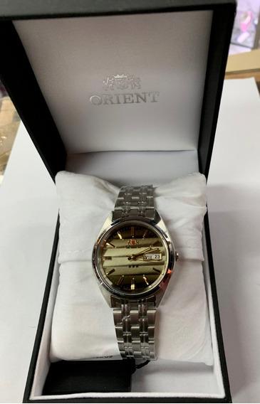 Relógio Automático Orient Fab0000du9 Original 3 Estrelas