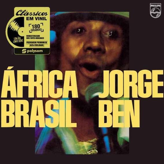 2 Lp Jorge Ben África + Flamengo Lacrados 180g Frete Grátis