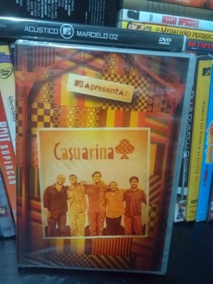 Dvd Casuarina Mtv Apresenta Novo Lacrado Da Fabrica Original