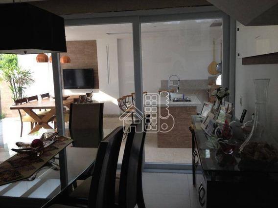 Casa Com 3 Dormitórios À Venda, 180 M² Por R$ 600.000,00 - Mata Paca - Niterói/rj - Ca1112