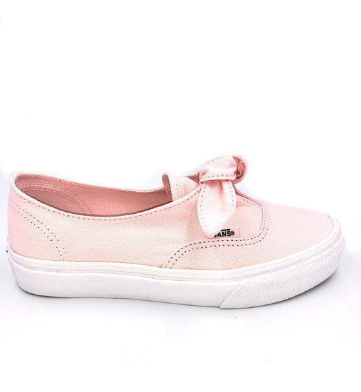 Tenis Authentic Knotted Canvas Rosa Ruedestoy
