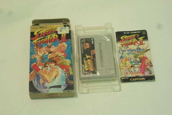 Street Fighter 2 Completo Para Super Nintendo Cod-001