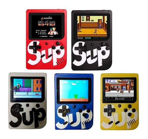 Mini Consola Retro Portátil Videojuego Varios Colores Game