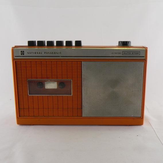 Gravador Cassette National Panasonic Rq-416s Usado C/defeito