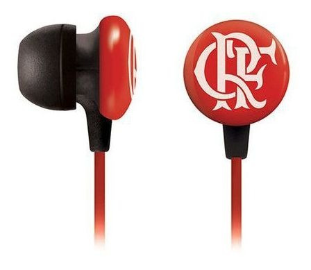 Fone De Ouvido Time Sf-10 Flamengo Waldman