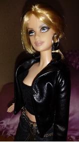 Barbie Collector Haley Davidson 2008*boneca Tatuada Rara