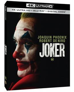Joker 4k + Blu-ray + Digital Hd