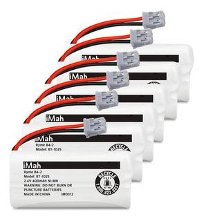 Set De 6 Baterías Recargables P/teléfono Inalámbrico Uniden