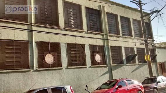 Galpão Comercial Para Venda E Locação, Mooca, São Paulo. - Ga0033