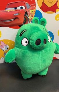Peluche Cerdo Verde Angry Birds Pig 22 Cm Personaje Muñeco