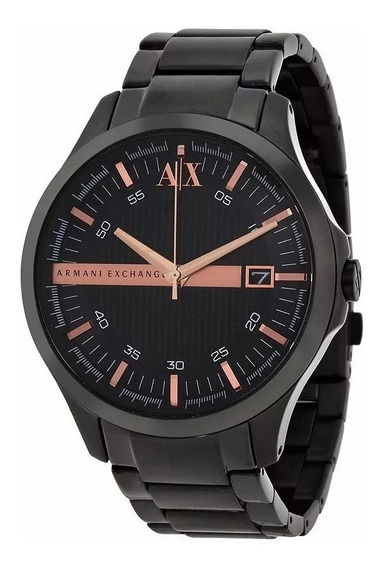 Relógio Dx1921 Armani Exchange Ax2150 Black Premium C/ Caixa