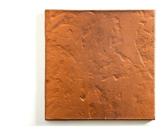 Ceramicas De Piso Colonial Vereda / Patio / Terraza Loimar Laja Vecchia 35x35 1ra