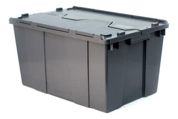 Caja De Plastico Con Tapa De Bisagras 60-32