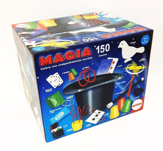 Juego De Magia Con Galera 150 Trucos Antex Mundo Manias