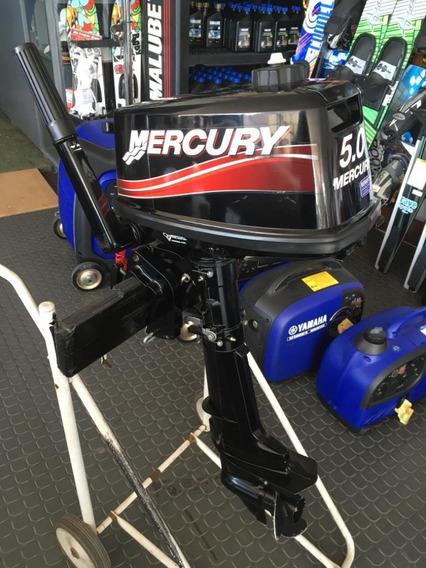 Motor Mercury 5hp 2t Pata Corta 2015 Muy Poco Uso Impeacble!