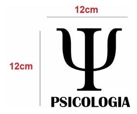 Adesivos Carro Psicologia 12cm
