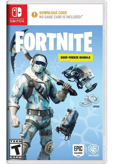 Jogo Fortnite Deep Freeze Bundle Nintendo Switch Lacrado