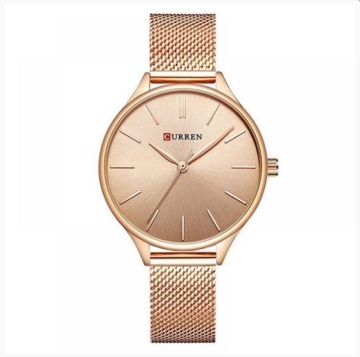 Relógio Feminino Analógico Mulher Presente Com Garantia