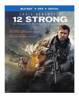 Blu Ray 12 Strong Dvd Original Nuevo
