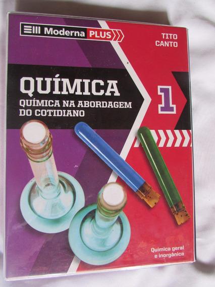 Química Na Abordagem Do Cotidiano Plus 1 Tito E Canto 5ª Ed.